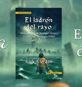 El ladrón del rayo de Rick Riordan